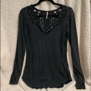 Free People Celtic Long Sleeve Tunic
